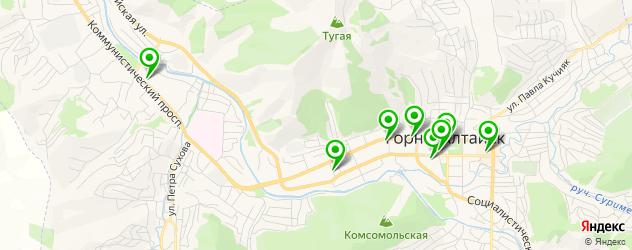 Доставка роллов на карте Горно-Алтайска