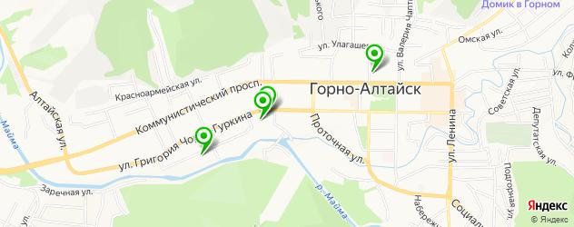 спорты-бары на карте Горно-Алтайска