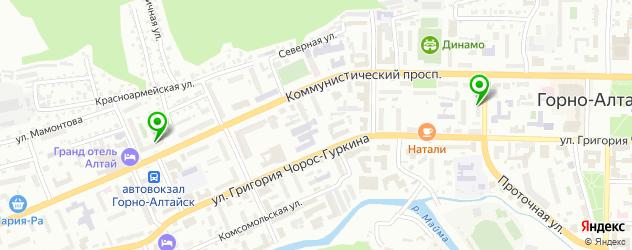компьютерные клубы на карте Горно-Алтайска