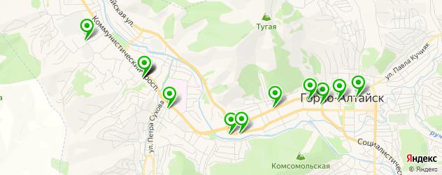 агентства праздников на карте Горно-Алтайска