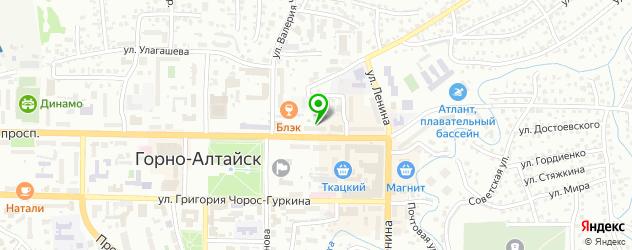тату салон на карте Горно-Алтайска
