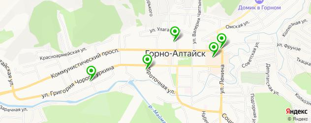 обувные мастерские на карте Горно-Алтайска