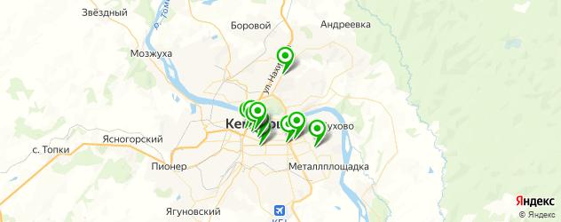 японские рестораны на карте Кемерово
