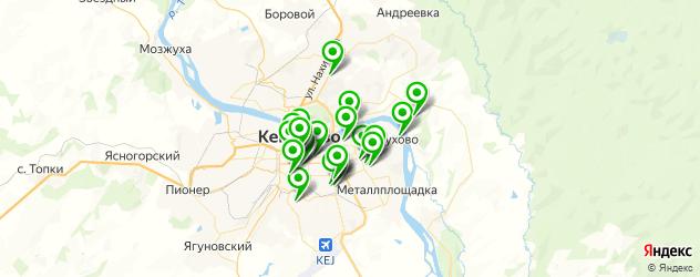 живая музыка на карте Кемерово