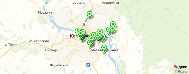 постные меню в ресторанах на карте Кемерово
