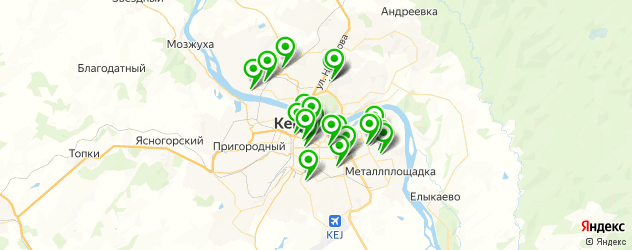 тату салон на карте Кемерово