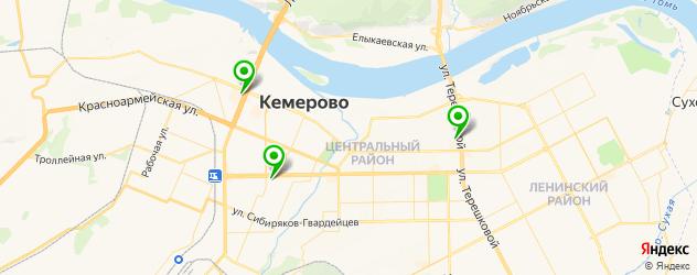где купить парик на карте Кемерово