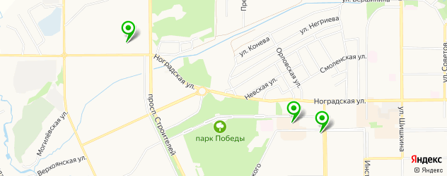 бары с живой музыкой на карте Прокопьевска