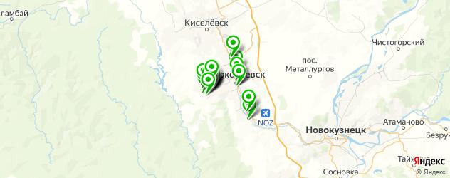 юбилей на карте Прокопьевска