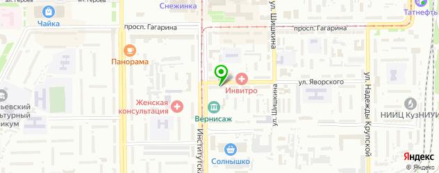 реабилитационные центры на карте Прокопьевска