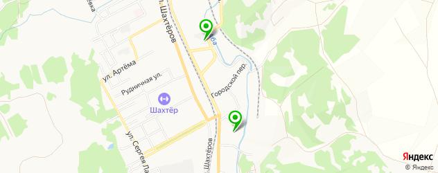 прачечные на карте Прокопьевска