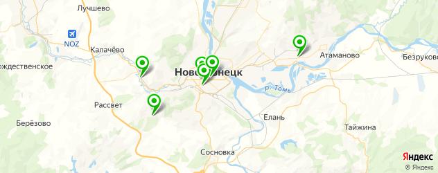 вегетарианские кафе на карте Новокузнецка