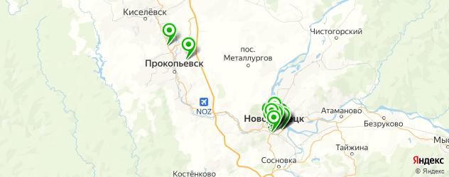 меховые ателье на карте Центрального района