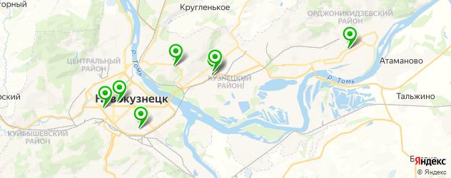 колледжи на карте Новокузнецка