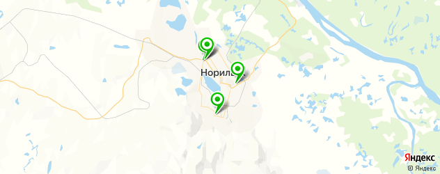 мотосалоны на карте Норильска