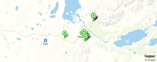 доставка на карте Норильска