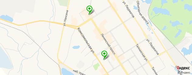 сервисные центры Самсунг на карте Норильска
