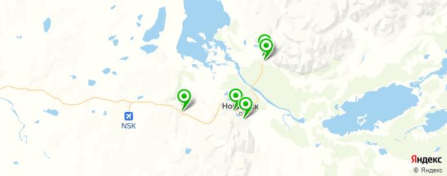 авторазборки на карте Норильска