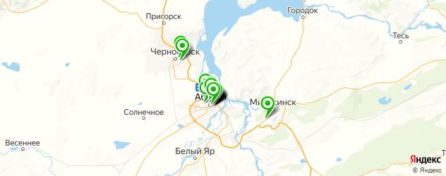 ювелирные мастерские на карте Абакана
