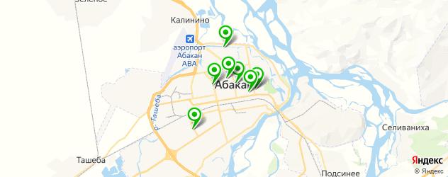 изготовления ключей на карте Абакана