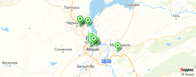 центры косметологии на карте Абакана