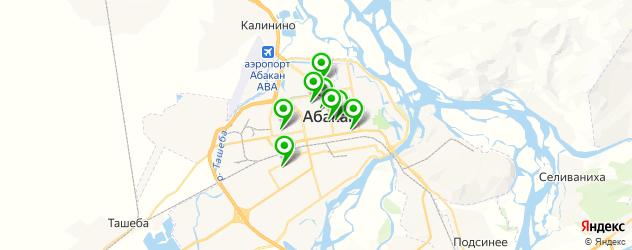 бары с живой музыкой на карте Абакана