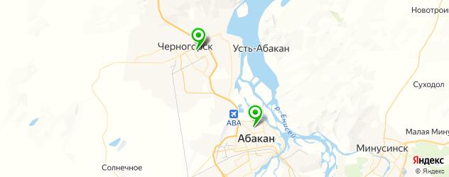 гимназии на карте Абакана