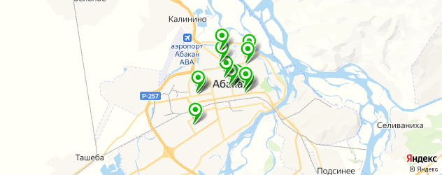рестораны с живой музыкой на карте Абакана