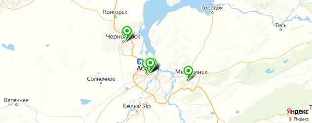 ортопедические магазины на карте Абакана