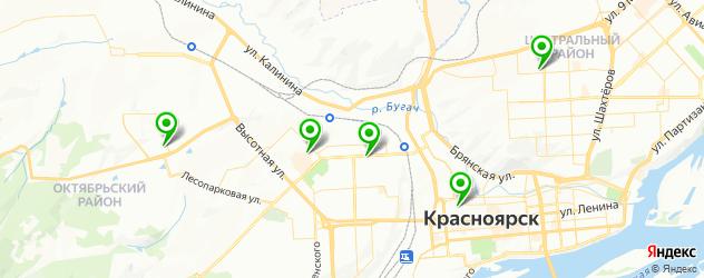 пилинг джесснера на карте Красноярска