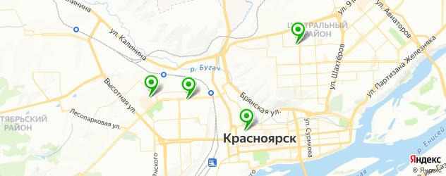 контурная пластика лица на карте Красноярска