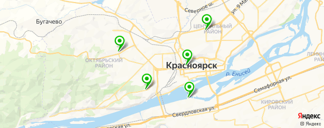 ламинирование ресниц на карте Красноярска
