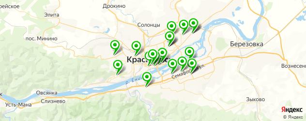 детские музыкальные школы на карте Красноярска