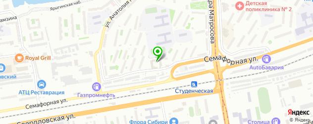 ремонт газонокосилок на карте Красноярска