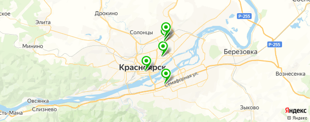 пошив корпоративной одежды на карте Красноярска