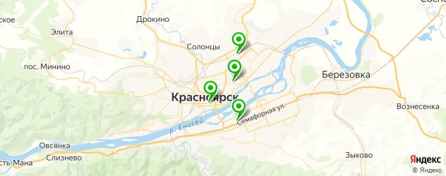 пошив военной формы на карте Красноярска