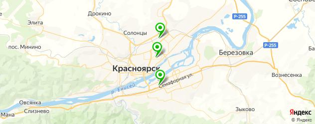 пошив форменной одежды на карте Красноярска