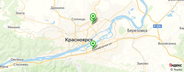 пошив промо-одежды на карте Красноярска