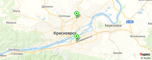 пошив пальто на заказ на карте Красноярска