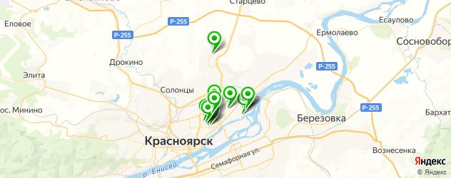 УЗИ на карте Советского района