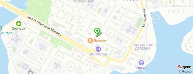Частный детский сад Маруся — схема проезда на карте