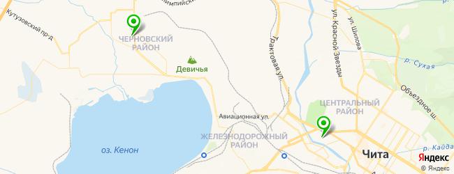 ледовый дворец на карте Читы