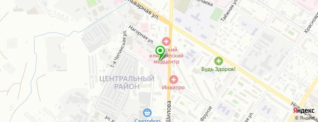 Городской родильный дом ГУЗ — схема проезда на карте