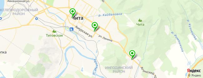 мастерская по ремонту компьютеров на карте Читы