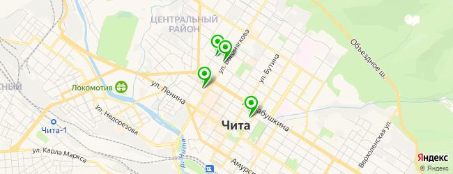 паб на карте Читы