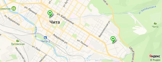 музыкальные школы на карте Читы