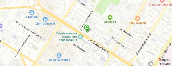 Краевой центр планирования семьи и репродукции ГУЗ — схема проезда на карте