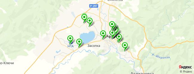 больницы на карте Читы