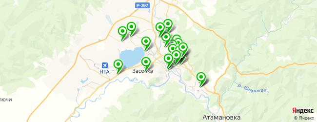 сауна на карте Читы