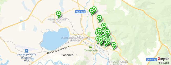 бар на карте Читы